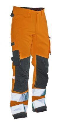 2221 Arbeidsbukse Star varsel Orange/Black