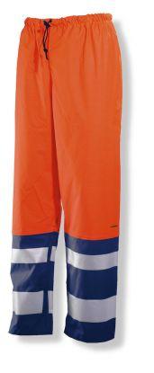2546 Regnbukse varsel Orange/Navy