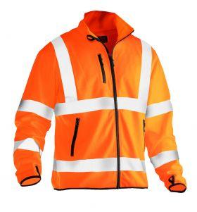 5101 Softshelljakke Light varsel Orange