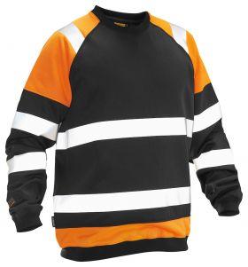 5124 Synlighetsgenser Black/Orange
