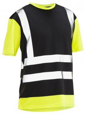 5126 T-skjorte varsel Black/Yellow