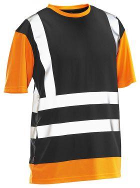 5126 T-skjorte varsel Black/Orange