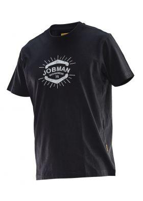 5266 T-skjorte Beatnik Print Black/White
