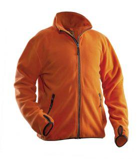 5501 Fleecejakke Orange