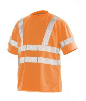 5584 T-skjorte varsel Orange