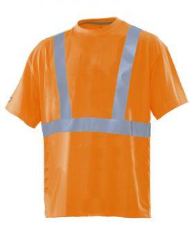 5585 T-skjorte varsel Orange