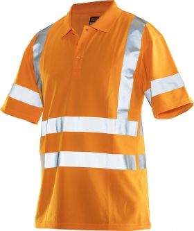 5592 Pikéskjorte Varsel Orange