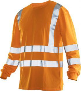 5593 Langermet T-skjorte Varsel Orange