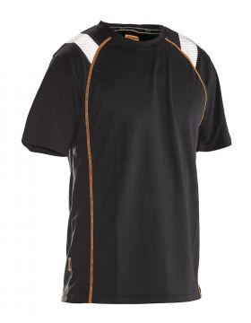 5620 T-skjorte Spun Dye Vision Black/Orange