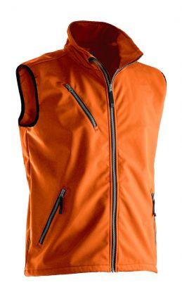 7502 Softshellvest Orange