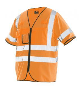 7598 Refleksvest Orange
