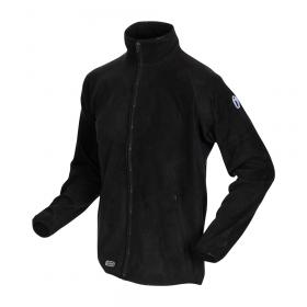 iwear FLEECE jacket-Black. Outgoing style