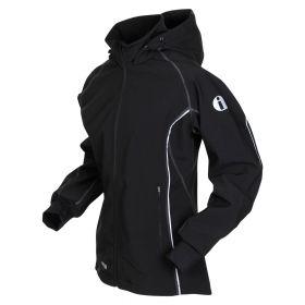 iwear SOFTSHELL jacket, women-Black. Outgoing style