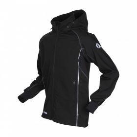 iwear SOFTSHELL jacket-Black. Outgoing style