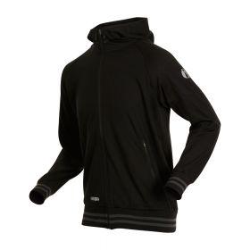 iwear HOODY, unisex jacket. Outgoing style Black