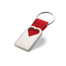 Bonheur hjerteformet nøkkelring