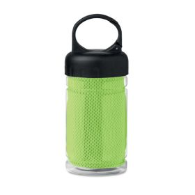 Fris PET flaske m. håndkle