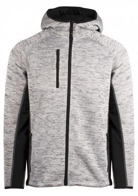 Essential hoodie unisex Gråmelert