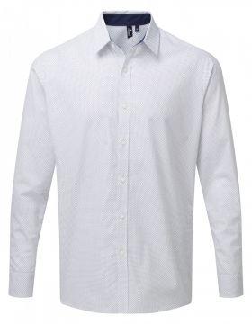Denim Pindot Shirt L/S (H) Prikket