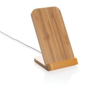 Bambus 5W trådløs ladning stativ