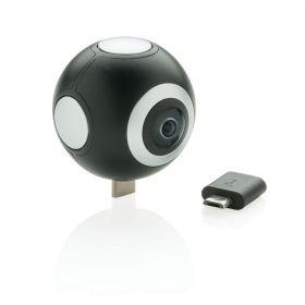 Dobbel linset 360 kamera