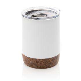 Kork vakum kopp liten hvit