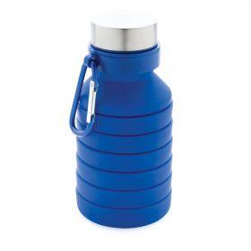 Lekkasjesikker sammenleggbar silikonflaske med lokk