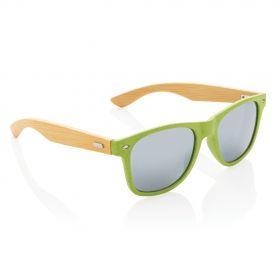 Hvetestrå og bambus solbriller
