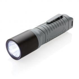 3W LED lettvekts lommelykt stor