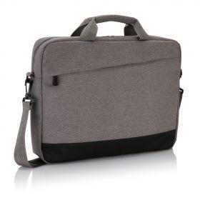 Trend laptop veske grå, svart