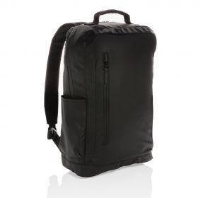 Fashion svart 15,6'' laptop ryggsekk PVC-fri