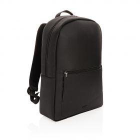 Swiss Peak luksuriøs laptop-ryggsekk av vegansk PVC-fritt læ