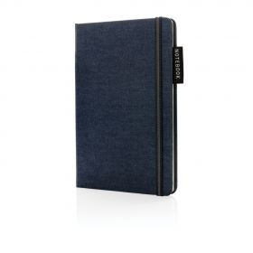 Deluxe A5 denim notatbok