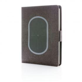 Air notatbok cover A5 med trådløs lading