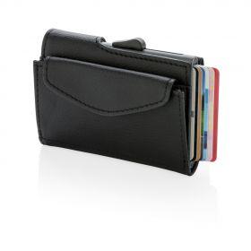 C-Secure RFID kortholder & mynt/nøkkel lommebok