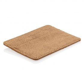 Kork RFID-sikret tynn lommebok