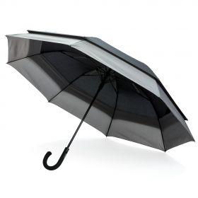"""Swiss Peak 23"""" til 27"""" utvidbar paraply"""
