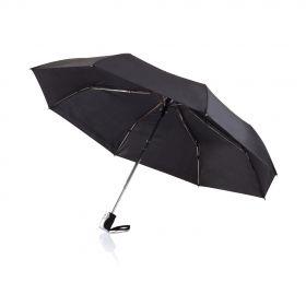 """Deluxe 21,5"""" 2 i 1 auto åpne/lukke paraply Svart"""