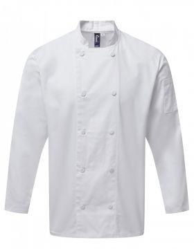 Coolchecker L/S Jacket Hvit