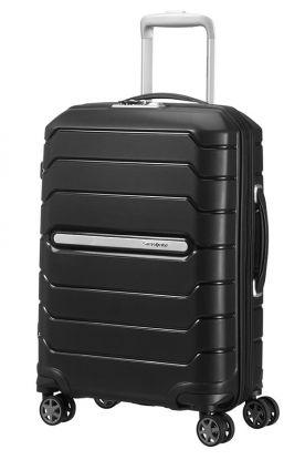 Flux Utvidbar koffert 4 hjul 55cm Sort
