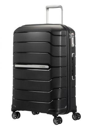 Flux Utvidbar koffert 4 hjul 68cm Sort