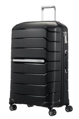 Flux Utvidbar koffert 4 hjul 75cm Sort