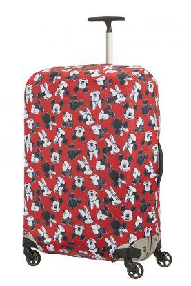 Disney Bagasjetrekk L Spinner 86cm Mickey/Minnie Red