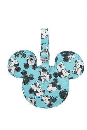Disney Navnelapp Mickey/Minnie Blue