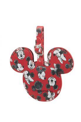 Disney Navnelapp Mickey/Minnie Red