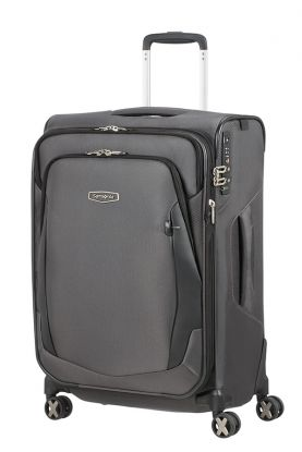 X'blade 4.0 Utvidbar koffert 4 hjul 63cm Grey(s)/Black