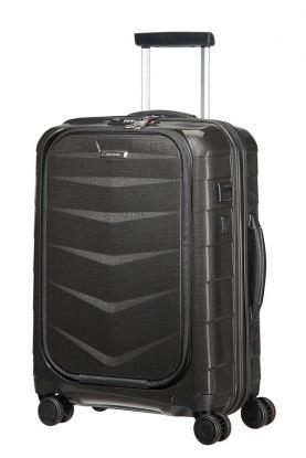 Lite-Biz Koffert 4 hjul 55cm USB Sort