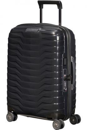 Proxis Utvidbar koffert med 4 hjul Sort