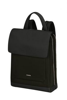 Zalia 2.0 PC-ryggsekk med flap Sort